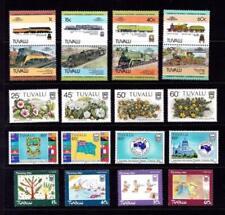 Flowers Tuvaluan Stamps