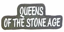 QUEENS OF THE STONE AGE Embroidered Sew On Iron On Shirt Jacket Patch 4""