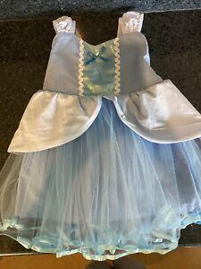 Kids Girls Cinderella Princess Fancy Dress Toddler Cosplay Party Costume 2T/3T