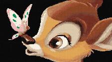 Disney Bambi & Mariposa puntada cruzada contada Kit De Animales/Mariposas
