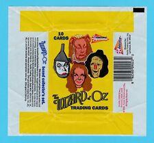 BUBBLE  GUM  WRAPPER  -  PACIFIC  -  THE  WIZARD  OF  OZ  -  1990
