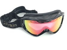 Smith Cadence Women's Snowboard Ski Goggles Size M, Black Gold Rainbow Lens