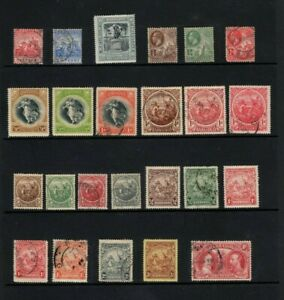 Barbados George V collection of 24 mint & used