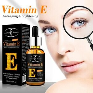 Vitamin E 100% Natural Plant Eye Serum Dark Circle Anti-wrinkle Removal