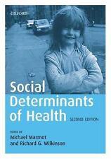 Social Determinants of Health, , Good,  Book