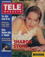 TELE MAGAZYN 97/31 (25/8/97) SHARON STONE OLIVIA NEWTON-JOHN LOUIS DE FUNES