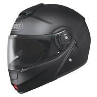 Shoei Neotec Matt Black Flip Front Up Touring Motorcycle Bike Helmet XS-XXL