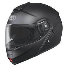 Shoei Neotec Negro Mate Mentonera Deslizante Arriba Touring Motocicleta Casco