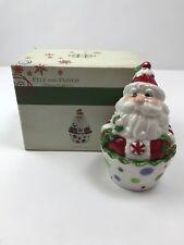 Fitz & Floyd Christmas Confections Santa Lidded Box 29-489