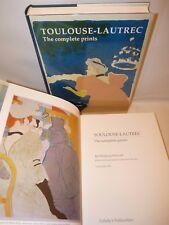 ARTE - Wittrock: TOULOUSE-LAUTREC The Complete Prints 2 volumi 1989 Sotheby's