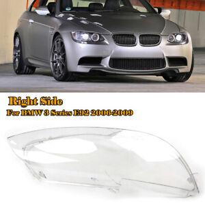 Right Headlight Headlamp Lens Cover for BMW E92 E93 Coupe M3 328i 335i 2006-2009