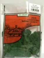 "Javis Countryside scenic's ""00"" & ""N"" No 3 Dark Green Hedge Foliage JHF3"