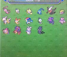 Pokemon Sun Moon 16 Event Mythical Legendary Pack 6IV Pokemon Guide