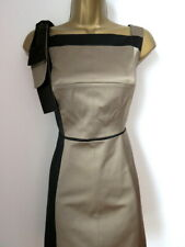 Karen Millen brown & black party coctail dress size 8
