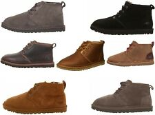 Authentic Ugg Neumel Grizzly Waterproof, Brown, Black, Chestnut, Gray Men's Boot