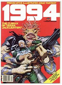 1994 Magazine 28 Warren Illustrated Adult Fantasy sci-fi Maroto Thorne 1982 A531