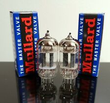 PLATINUM  Matched Pair (2) Mullard ECC81/12AT7 tubes - Russia