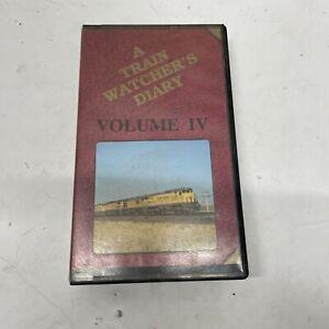 A Train Watcher's Diary Volume IV 1992