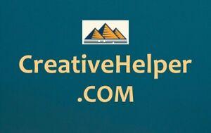 CreativeHelper .com / NR Domain Auction / Writing, Designing Courses / Namesilo