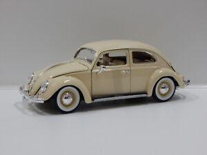1:18 1955 Volkswagen Kafer-Beetle (Cream) Burago 18-12029