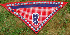 1980 Moscow Olympic Game  Vintage Shawl carf Misha Mascot