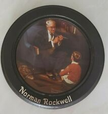 "Norman Rockwell ""The Tycoon"" Heritage Collection - In Wood Frame"