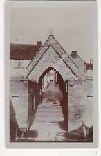 St Andrews Church Stogursey Somerset HH Hole Vintage RP Postcard 686b