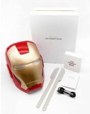 Marvel Iron Man LED Thearpy Mask Skin Care Aging Device Home Face Lifting Pore
