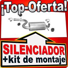 Silenciador Trasero SEAT ALTEA LEON TOLEDO 1.4 TSi Escape AFA