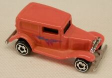 Micro Hot Wheels 1932 Ford Delivery Weird Pink Hue Color Racer 1/87 Scale