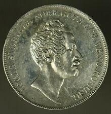 Sweden Silver Riksdaler 1855  XF/AU cleaned     A1519