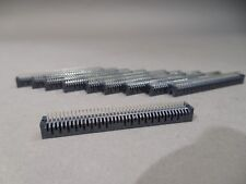 Lot of 10 Samtec Inc. TFM-140-01-S-D Right Angle 80 Positions Header Connector
