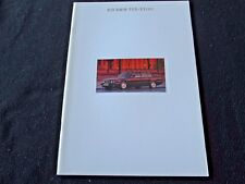 1993 BMW 7 Series GERMAN Brochure 740i 740iL 750iL V12 V8 6-cy E32 Sales Catalog