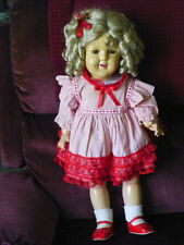 "26"" Composition ""SHIRLEY TEMPLE"" - RARE  BIG DOLL"