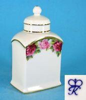 Porzellan Teedose Rosen zu Tausendschön Kämmer H16cm 9988372