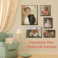 """Your Photo Turn Into Canvas Print, Custom Canvas Prints with Frame Size 10""""x 14"""""""
