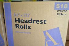 Chiropractic Headrest Paper Rolls Standard Smooth 85x 225 25 Rolls Per Case