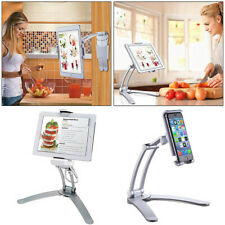 """Universal 7""""-12"""" Tablet 360° Desk Stand + Wall Mount Bracket for iPad Air iPhone"""