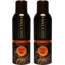Body Drench Quick Tan Sunless Tanning Mist Medium Dark 6oz (2 pack)