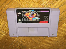 Death and Return of Superman Super Nintendo Snes Cleaned & Tested