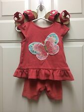 Gymboree Outfit Size 18-24 Months With Matching Gymboree Size 6 Shoes