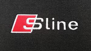 Car mats Audi A4 Sline B6-B7 2000-2007 EMBROIDERED LOGO Sline!!!
