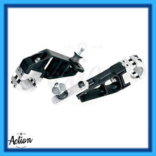GO KART ROTAX EXHAUST SUPPORT BRACKET KIT DUAL MOUNT PAIR 30-32 CHASSIS NEW