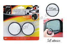 2 Car Rearview Mirror Blind Spot Side Rear View Convex Wide Angle Adjustable VIC
