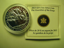 2013 Proof $20 Group of Seven #5-Guardian of the Gorge-Franz Johnston COIN&COA O