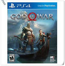 PS4 God of War 4 2018 Sony PlayStation SCE GOW Action Games