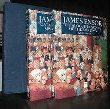 James Ensor # CATALOGUE RAISONNE#mint, 2 vol.