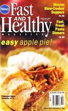 Pillsbury Fast & Healthy Magazine Sept/Oct 1997 Vol 6, No. 5 Recipes Cookbook