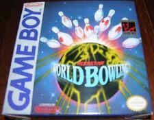 WORLD BOWLING (GAME BOY) ORIGINAL RELEASE!