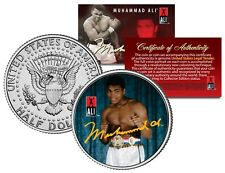 Muhammad Ali - YOUNG CHAMP - JFK Half Dollar U.S. Coin - OFFICIALLY LICENSED